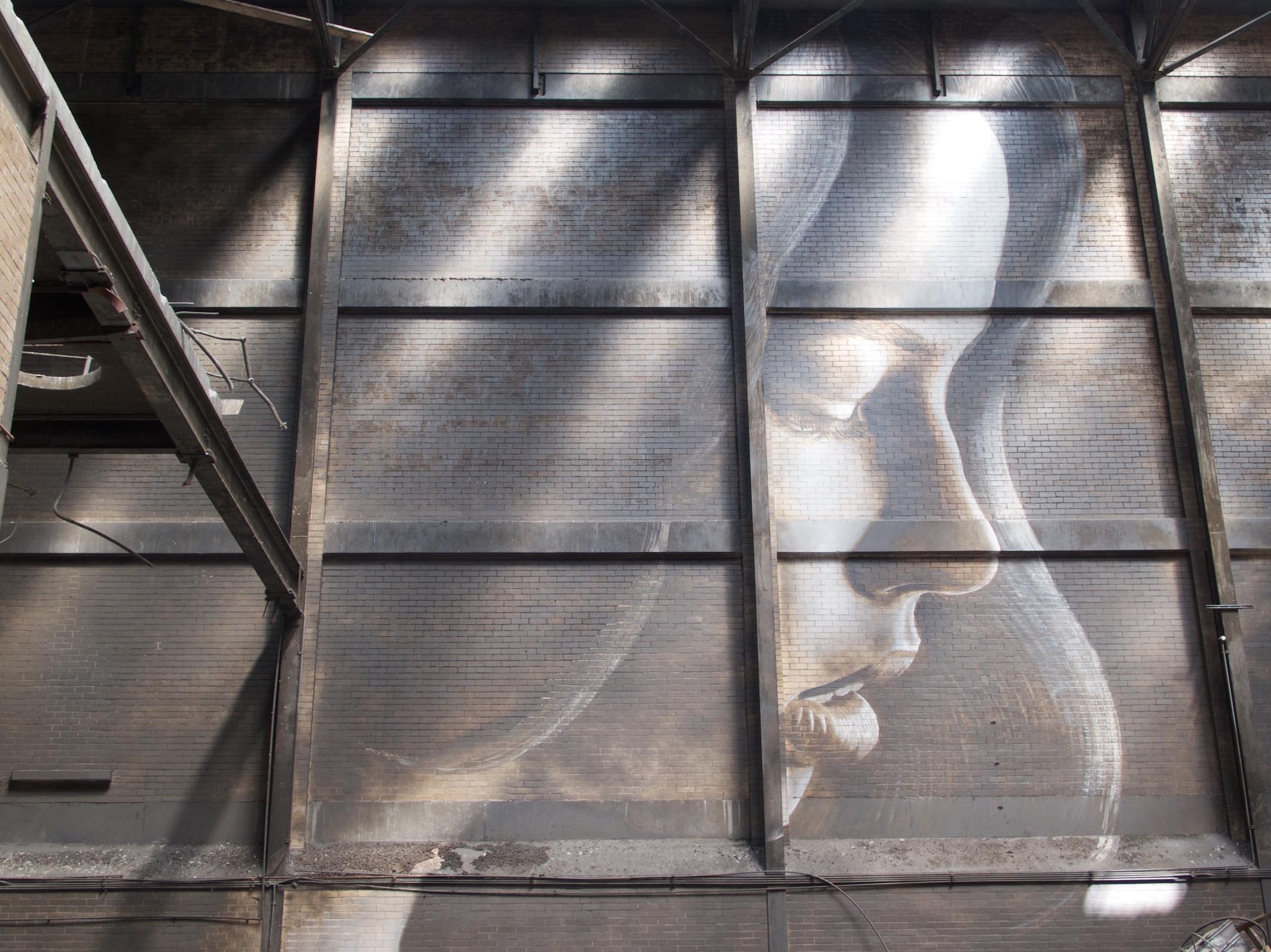 Street Art by Australian muralist Rone