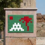 Invader invades Rabat in Morocco