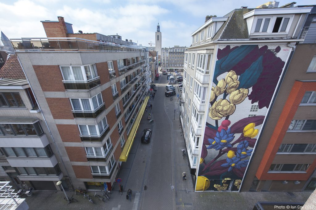 The Crystal Ship: Pastel in Ostend, Belgium