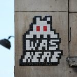 """PA_1275 & 1276"" by Invader in Paris"