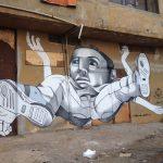 Claudio Ethos creates four murals in Caera and Beirut