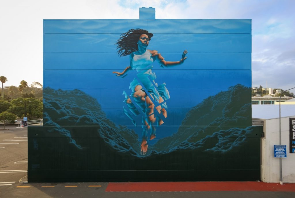 """Pania of the Reef"" by James Bullough in Napier, New Zealand"