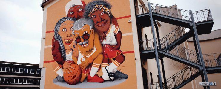 """ALL IN ALL WIN"" by Marina Capdevila in Bergamo, Italy"