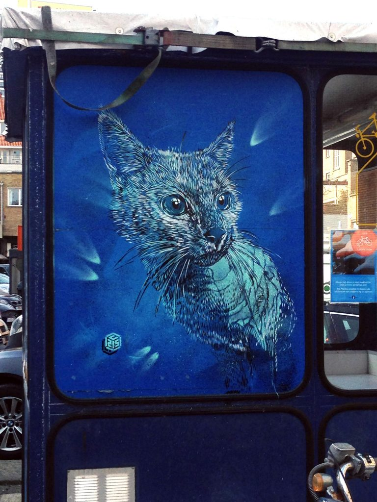 """The Crystal Ship"": C215 in Ostend, Belgium (Part I)"