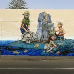 """Recycling Kingdom""  by Rustam Qbic in Napier, New Zealand"