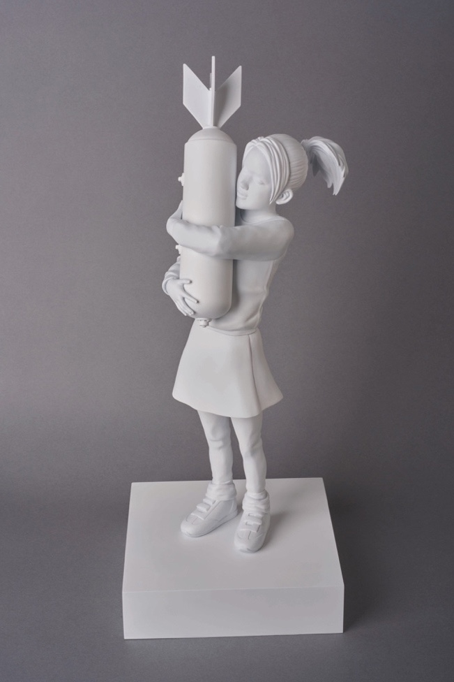 Brandalism & Medicom Toy's unveil three Banksy Collaborations