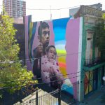 """Brothers"" by Ever in La Boca, Buenos Aires"