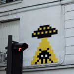 """PA_1280 & 1281"" by Invader in Paris"