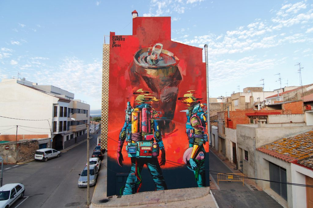Deih and Emilio Cerezo collaborate for CITRIC festival in Torreblanca, Spain