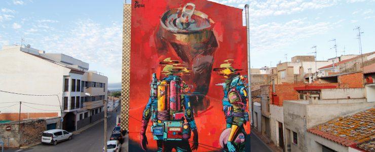 Deih and Emilio Cerezo collaborate for CITRIC festival in Torreblanca, Spain