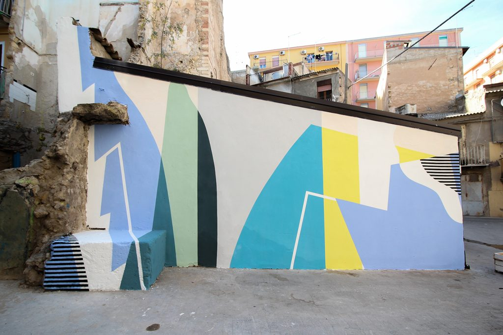 Latest mural from Gue in Licata, Sicily