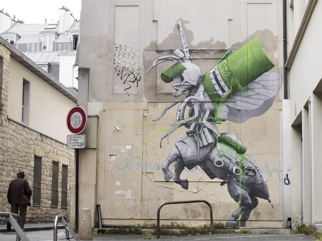 """Centaur"" by Ludo in Paris"