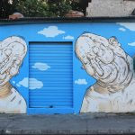 Luca Ledda creates two murals in the city of Vitoria (Espirito Santo), Brazil