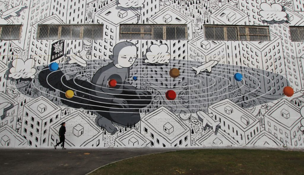 """Revolution"" by Millo in Saint Petersburg"