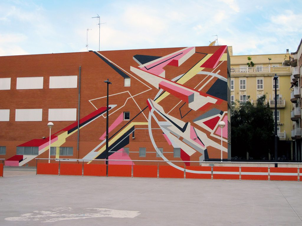 """Sense"" by Elbi Elem in Valencia, Spain"