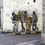 """Integration"" by Levalet in Reims, France"