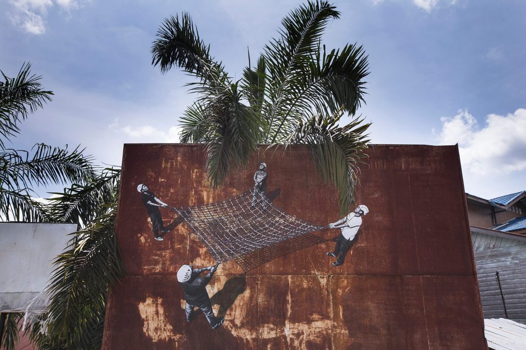 """Splash And Burn"" Project in Indonesia"