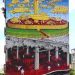 """La Cuccagna"" by Blu in Campobasso, Italy"
