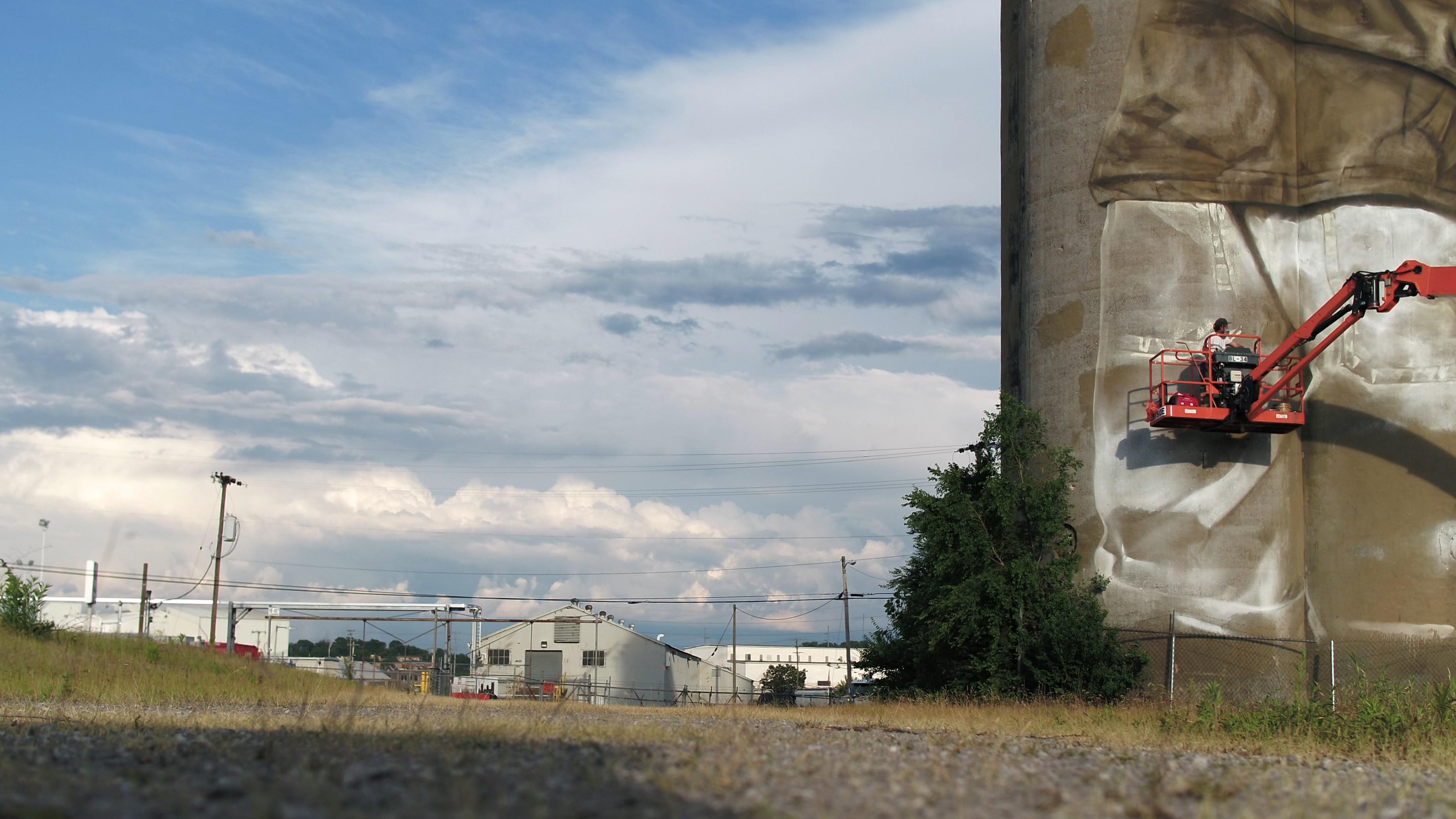 Guido van Helten in Nashville, USA Artes & contextos 8 2