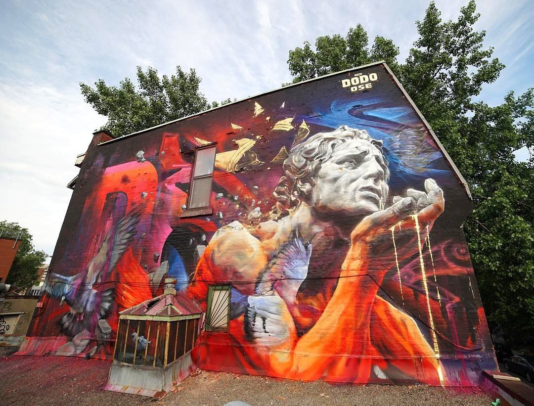 Recap mural international public art festival 2017 in for Art mural montreal