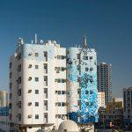 Work In Progress by eL Seed in Ajman, UAE