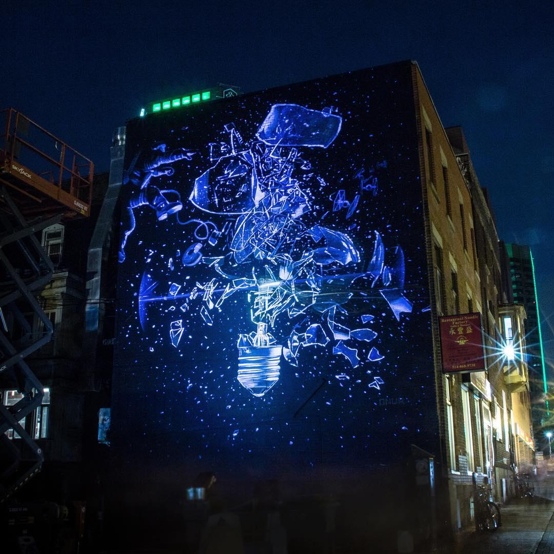 Mural festival 2017 onur in montreal streetartnews for Mural festival