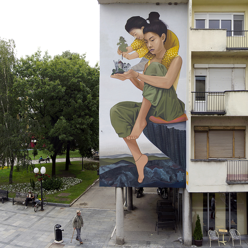 """Future is in your hands"" by Artez in Valjevo, Serbia"