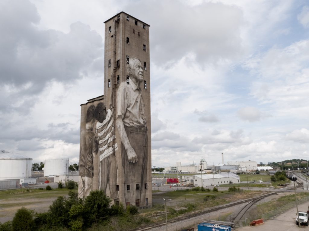 Guido van Helten in Nashville, USA