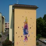 """The popler"" by Etnik in Mantova, Italy"
