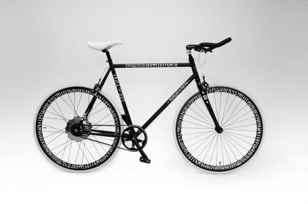 PILPELED collaborates with FOFFA bike company creating a first ever artistically designed bike