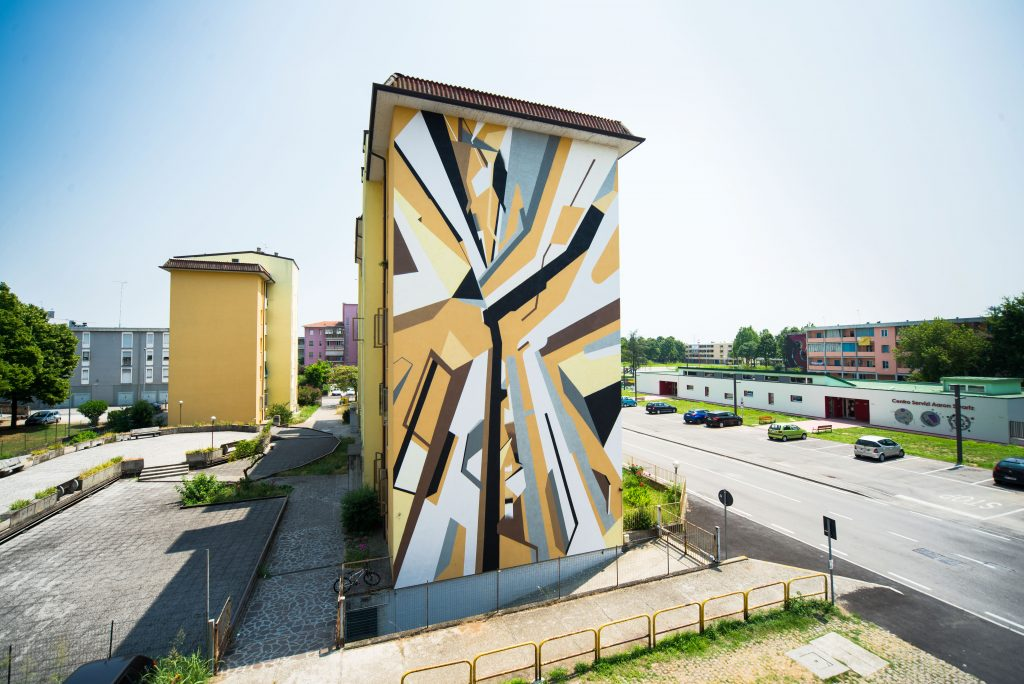 """Lunetta Sole"" by Elbi Elem in Mantova, Italy"
