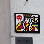 Invader Invades Versailles in France