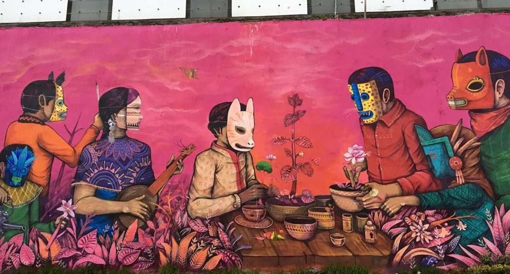 """Life In Our Hands"" by Saner in Mexico City"