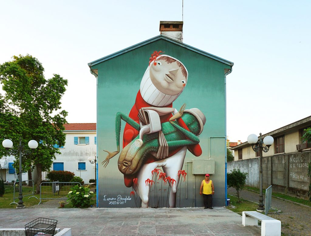 """The Wrong Love"" by ZED1 in Dolo, Italy"