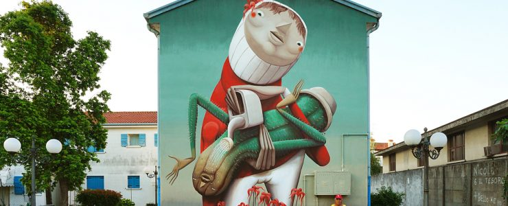 """""""The Wrong Love"""" by ZED1 in Dolo, Italy"""