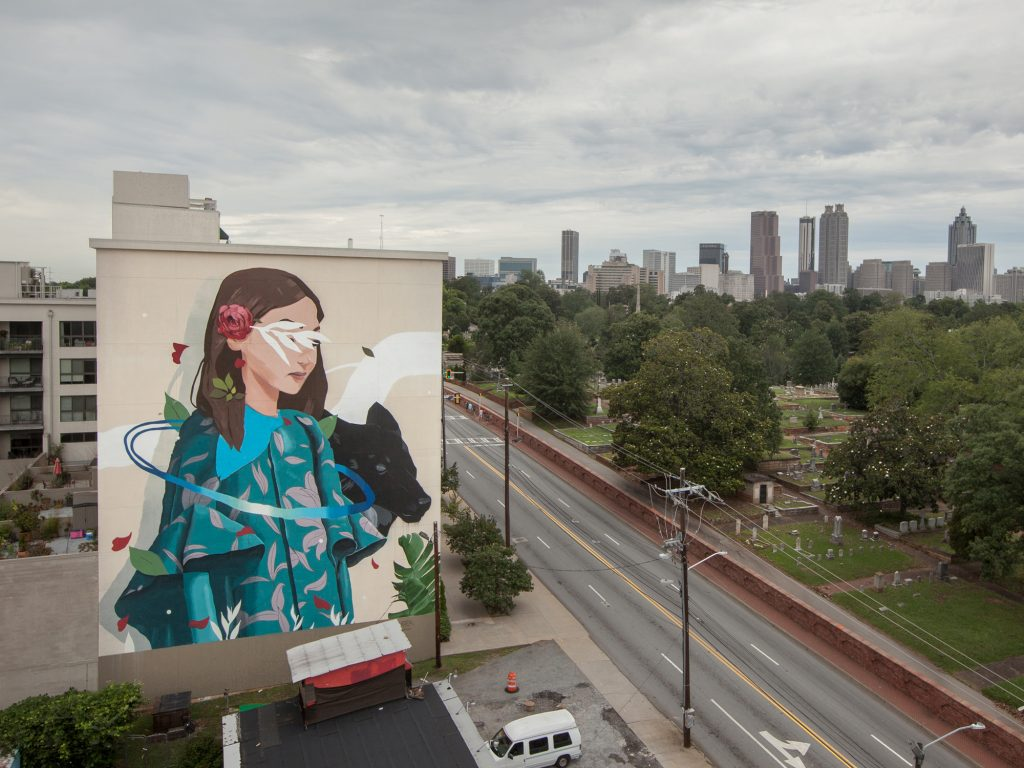 """The keep"" by Sabek in Atlanta, USA"