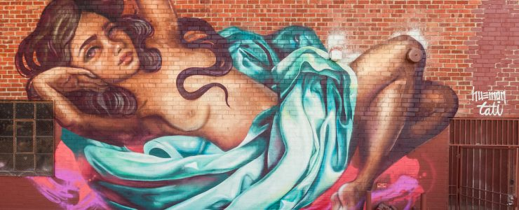Hueman & Tatiana Suarez in Los Angeles, CA