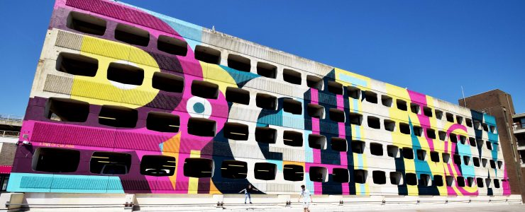 """""""Brutalist Supergraphics"""" by Ricky Also in Worthing, UK"""