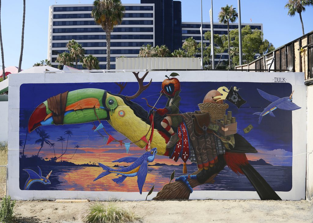 """The Poacher"" by Dulk for Pow! Wow! Long Beach in California"