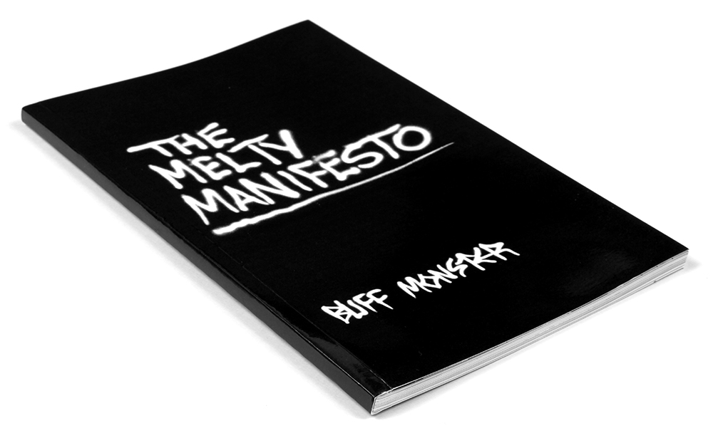 "Preview: Buff Monster ""The Melty Manifesto"" Book Signing 07/20/17, NYC"