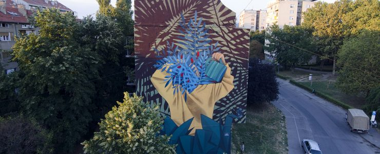 """Keep Growing"" by Artez in Novi Sad, Serbia"