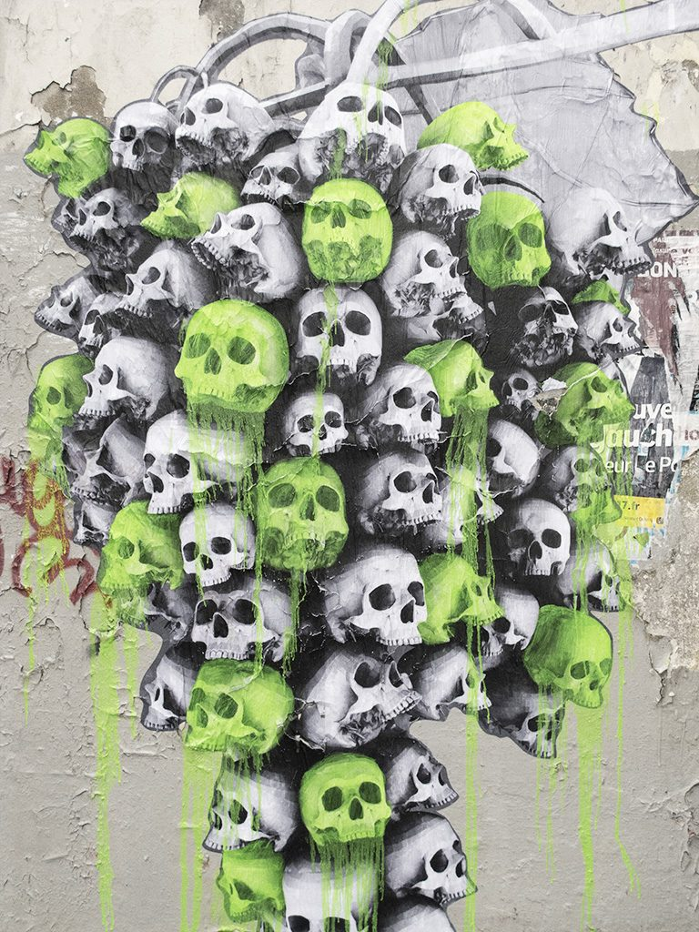 New pieces by Ludo in Paris, France