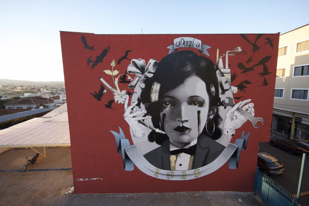 Claudio Ethos creates three new murals in Brazil