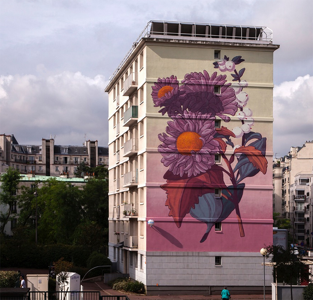 """Aster et symphorine"" by Pastel in Paris"
