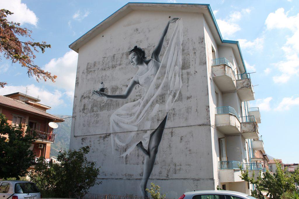 """""""Harmony"""" by Sasha Korban in Airola, Italy"""