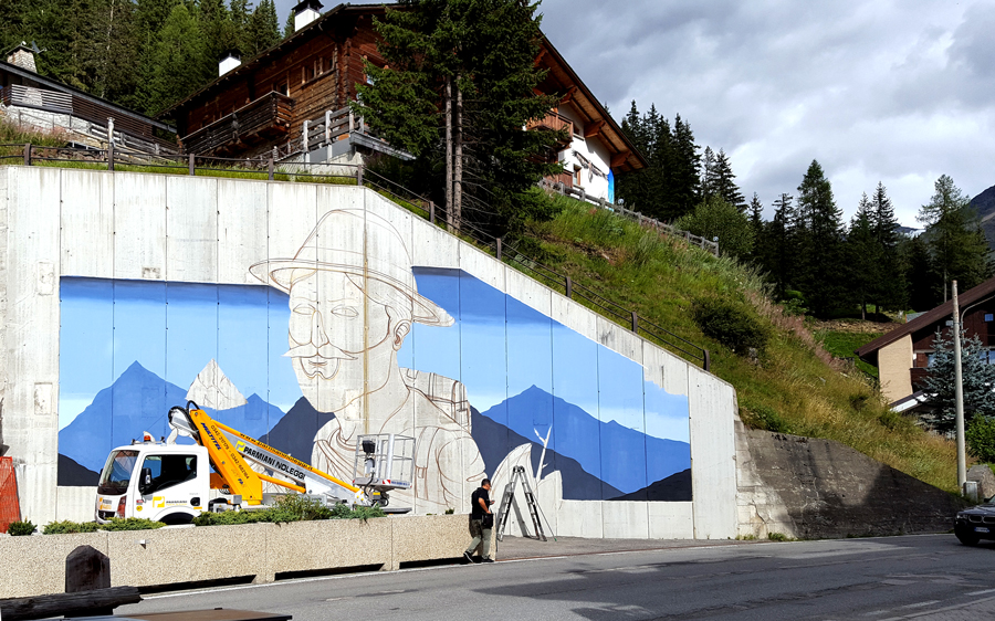 """Mountain Lovers"" by SeaCreative in Santa Caterina Valfurva, Italy Artes & contextos SeaCreative 2"