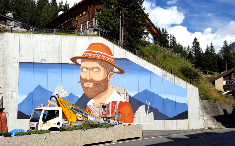 """Mountain Lovers"" by SeaCreative in Santa Caterina Valfurva, Italy Artes & contextos SeaCreative 5"