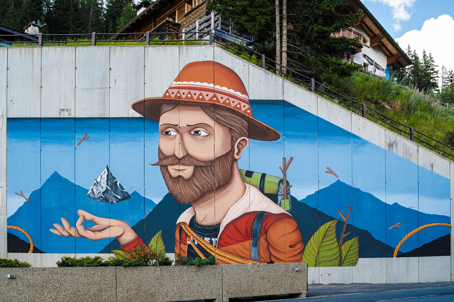 """Mountain Lovers"" by SeaCreative in Santa Caterina Valfurva, Italy Artes & contextos SeaCreative 6"