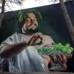 """Dionysus"" by Lonac in Bol, Croatia"