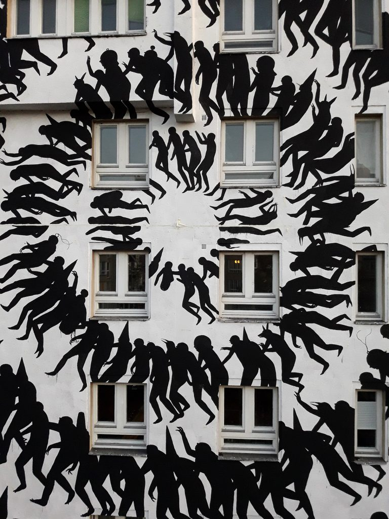 """Out of the way"" by David de la Mano in Berlin for Urban Nations"